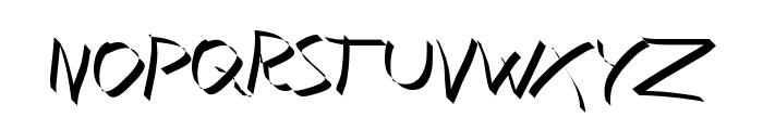 Xaligraphy Thin Font UPPERCASE
