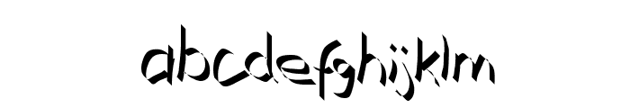 Xaligraphy Thin Font LOWERCASE