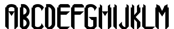 Xanadu Font UPPERCASE