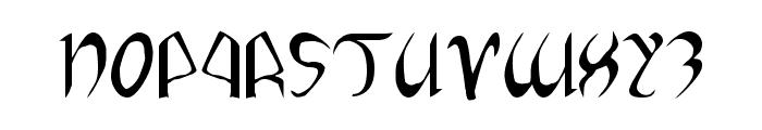 Xaphan II Font UPPERCASE