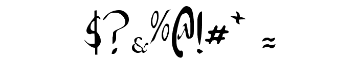 Xaphan Font OTHER CHARS