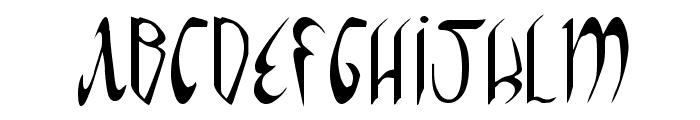 Xaphan Font UPPERCASE
