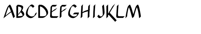 Xahosch Bold Font UPPERCASE