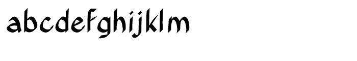 Xahosch Bold Font LOWERCASE