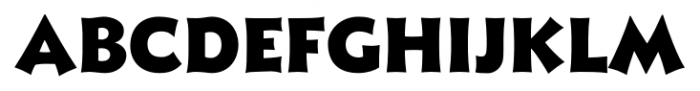 Xavier Sans Black Font LOWERCASE
