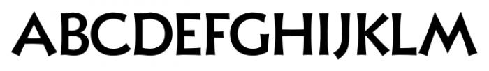 Xavier Sans Medium Font UPPERCASE