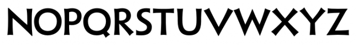 Xavier Sans Medium Font LOWERCASE