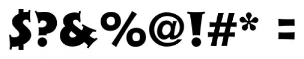 Xavier Serif Black Font OTHER CHARS