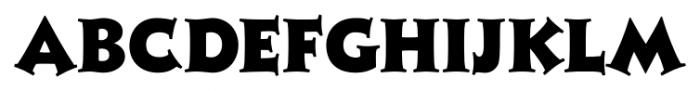 Xavier Serif Black Font UPPERCASE