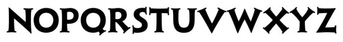 Xavier Serif Bold Font UPPERCASE