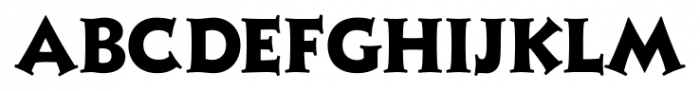 Xavier Serif Extra Bold Font UPPERCASE