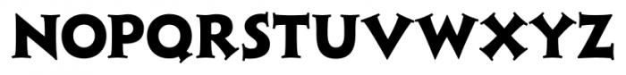 Xavier Serif Extra Bold Font LOWERCASE