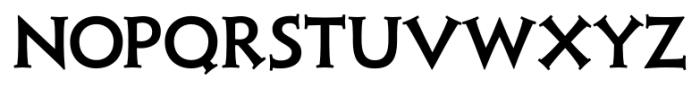 Xavier Serif Medium Font UPPERCASE