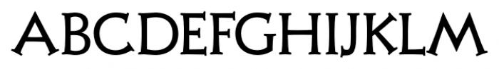 Xavier Serif Regular Font UPPERCASE