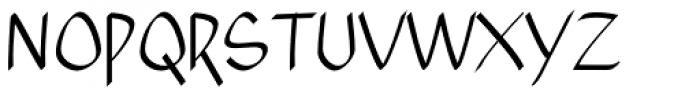 Xahosch Regular Font UPPERCASE