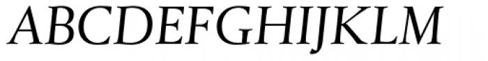 Xaloc Caption Italic Font UPPERCASE