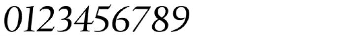 Xaloc Subhead-Italic Font OTHER CHARS