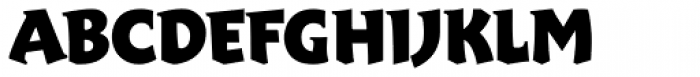 Xaltier Font UPPERCASE