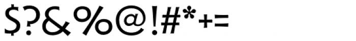 Xavier Sans Regular Font OTHER CHARS