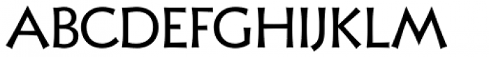 Xavier Sans Regular Font UPPERCASE