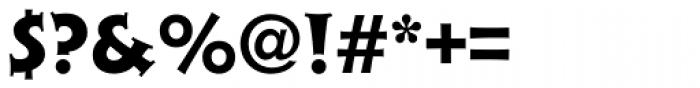 Xavier Serif ExtraBold Font OTHER CHARS