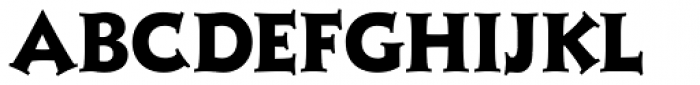 Xavier Serif ExtraBold Font LOWERCASE