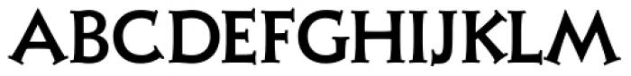 Xavier Serif Medium Font LOWERCASE