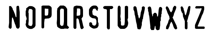 XBAND Rough Font UPPERCASE