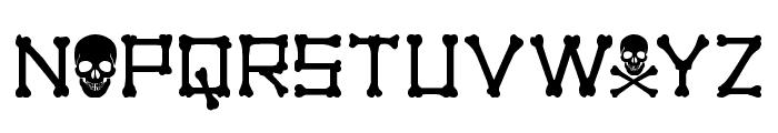 xBONES Font UPPERCASE