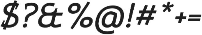 Xcetera Bold italic otf (700) Font OTHER CHARS
