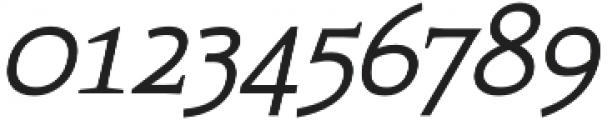 Xcetera Italic otf (400) Font OTHER CHARS