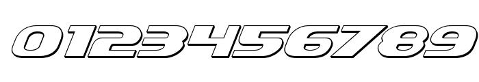 Xcelsion 3D Italic Italic Font OTHER CHARS