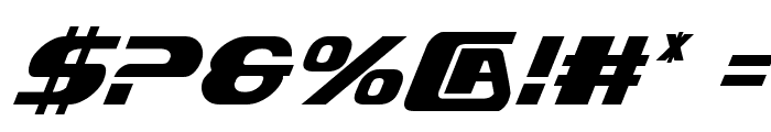 Xcelsion Condensed Italic Condensed Italic Font OTHER CHARS