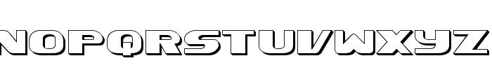 Xcelsion Deep 3D Font LOWERCASE