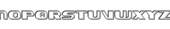 Xcelsion Engraved Font UPPERCASE