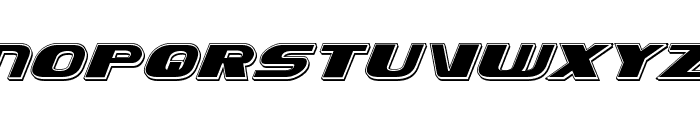 Xcelsion Punch Italic Italic Font UPPERCASE