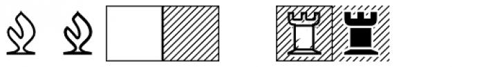 XChessNut Font LOWERCASE