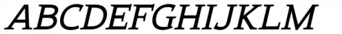 Xcetera Bolditalic Font UPPERCASE