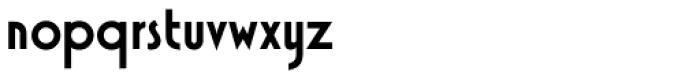 Xctasy Sans RR Bold Font LOWERCASE