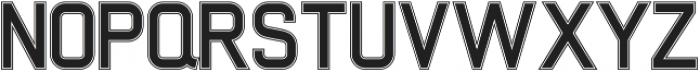 Xelo Fill Outline otf (400) Font UPPERCASE