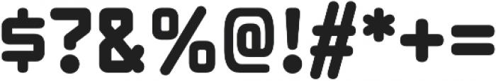Xenara Bold otf (700) Font OTHER CHARS