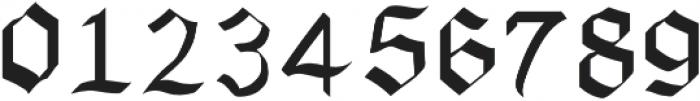 Xenoblock Gothic Regular otf (400) Font OTHER CHARS