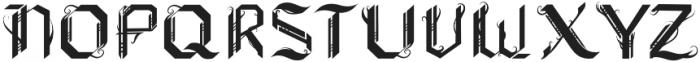 Xenoblock Gothic Regular otf (400) Font UPPERCASE