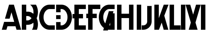 XelitaBold Font UPPERCASE
