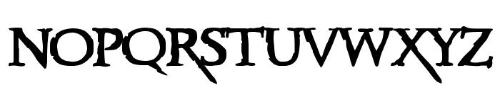 Xena Font UPPERCASE