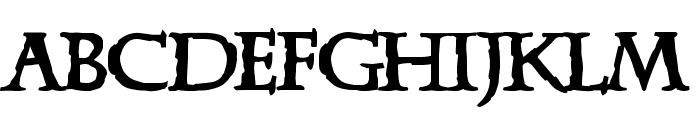 Xena Font LOWERCASE