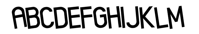 Xenik Font LOWERCASE