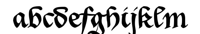 Xenippa Font LOWERCASE