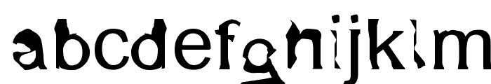 XenoArial Font LOWERCASE