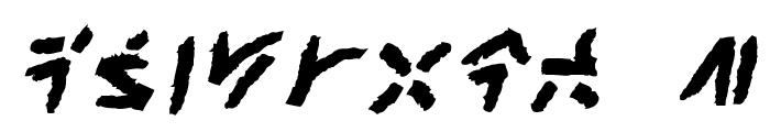 XenoTribalBB-Bold Font OTHER CHARS